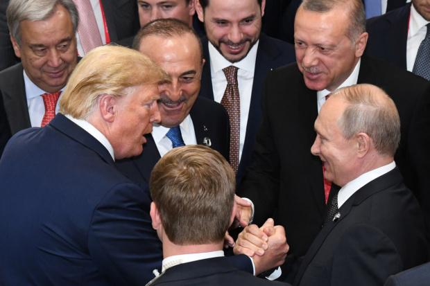 Турският президент Реджеп Тайип Ердоган определи президента на САЩ Доналд