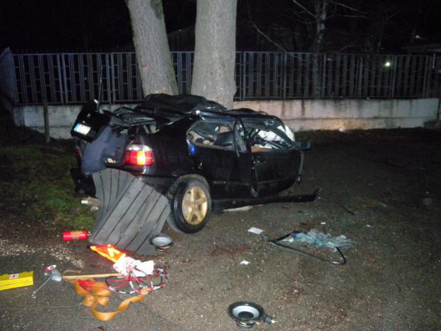 Тежка катастрофа е възникнала минути след полунощ днес на пътя