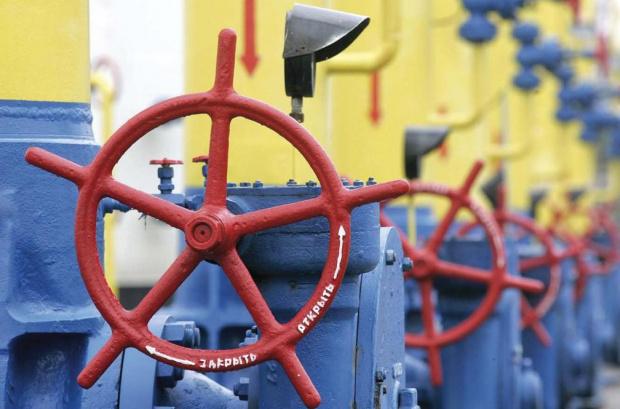 Транзитът на руски газ през Украйна в първия ден на