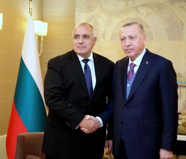 Министър-председателят Бойко Борисов се срещна с президента на Турция Реджеп