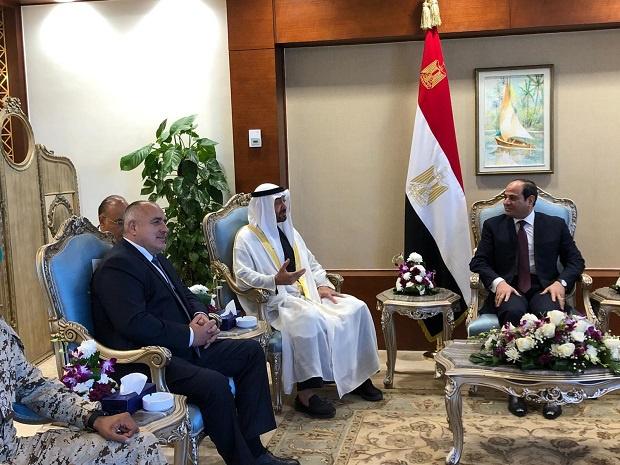 Борисов: Ще продължим да подкрепяме Египет в борбата с тероризма
