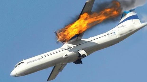 Разби се самолет с 83 души на борда