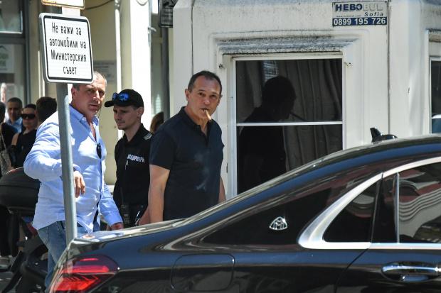 Във връзка с наложените запори на фирми, свързани с Васил