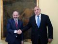 Борисов: Армения е традиционен партньор, с който желаем да развиваме всестранно и дългосрочно сътрудничество
