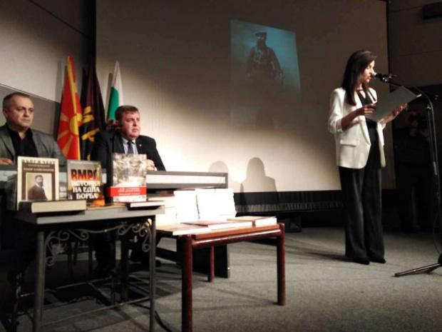 Каракачанов в Битоля: Няма подобна глупост да кажеш, че Гоце Делчев се е декларирал като българин заради български паспорт