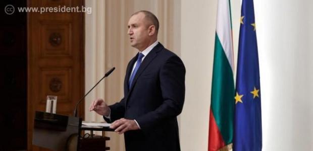 Цялото изявление на президента Румен Радев към нацията