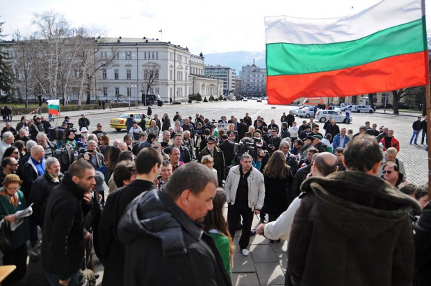 Близо 1000 души блокираха за около час центъра на София