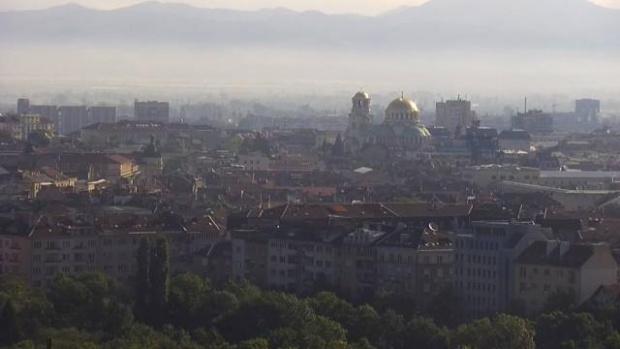 Днес София е в световния Топ 20 по мръсен въздух