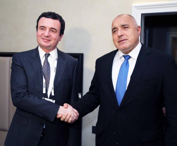 Борисов се срещна с новия премиер на Косово