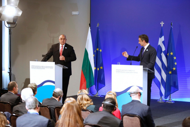 ВИДЕО Бойко Борисов се похвали с SMS от жена и каза: С Гърция правим газови магистрали