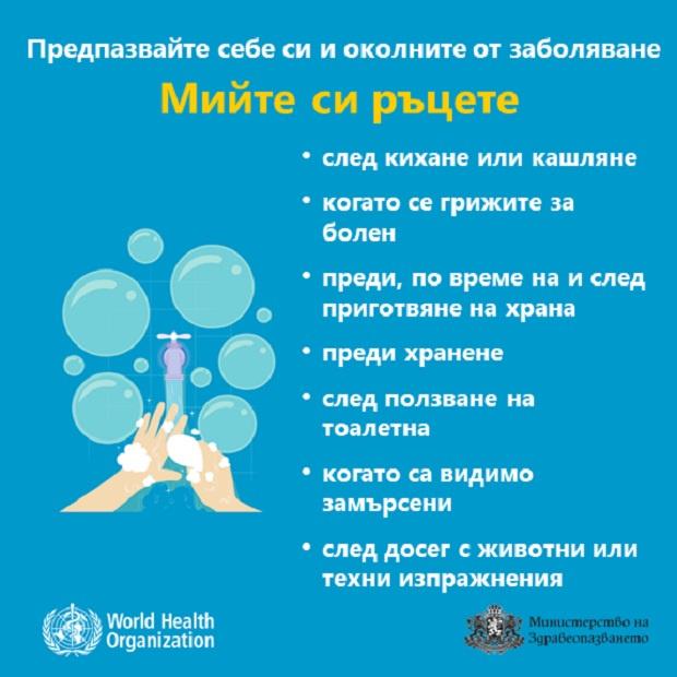 Във връзка със заболяването COVID – 19 - инфекциозно заболяване