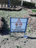Епидемия от неграмотност е обхванала Столична община! Поредна безумна табела на английски
