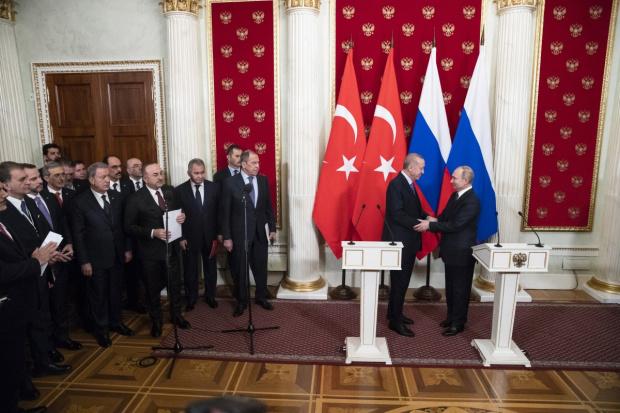 Турция и Русия постигнаха споразумение за урегулиране на ситуацията в