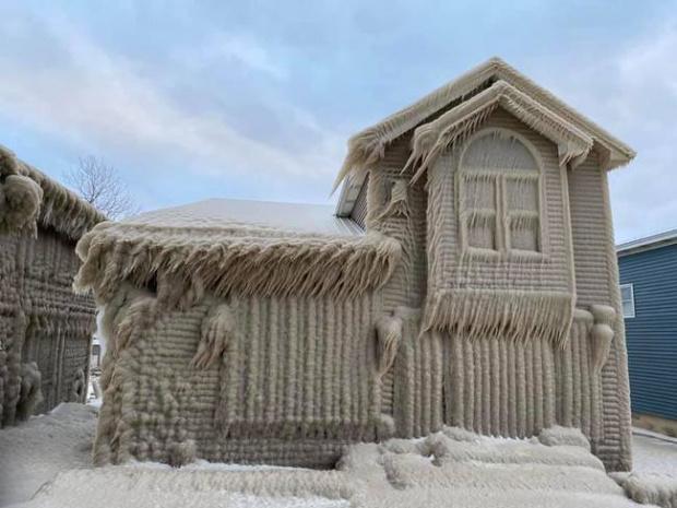 Хората, които живеят на Източното крайбрежие над езерото Ери в