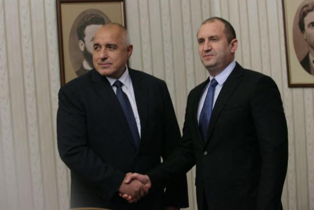 Министър-председателят Бойко Борисов проведе телефонен разговор с президента Румен Радев