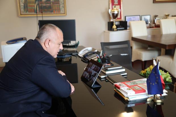 Министър-председателят Бойко Борисов и членовете на правителството проведох днес извънредно