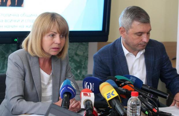 Тази сутрин столичният кмет Йорданка Фандъкова сигнализира за фалшиви бележки