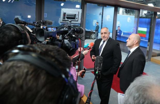 Вицепремиерът Томислав Дончев и министърът на труда и социалната политика
