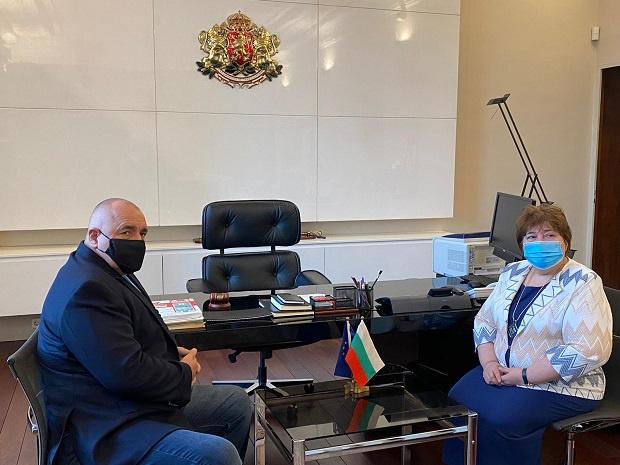 Министър-председателят Бойко Борисов се срещна с председателя на Висшия адвокатски