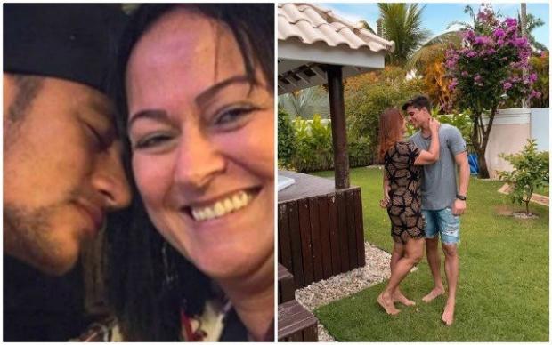 Майката на Неймар се залюби с 22-годишен младеж (СНИМКИ)