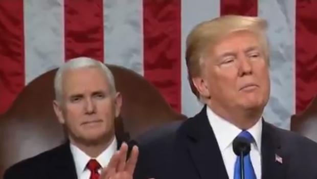Президентът на САЩ Доналд Тръмп и вицепрезидентът Майк Пенс са