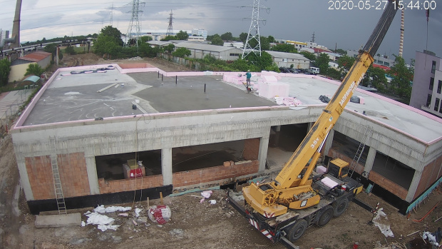 Електроразпределение Юг (част от EVN) продължава строителството на нова сграда