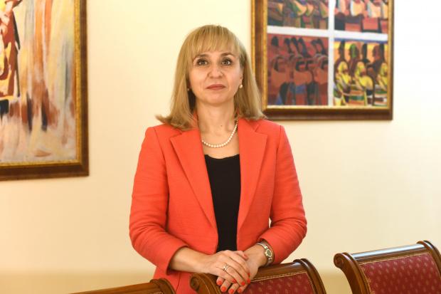 Омбудсманът Диана Ковачева изпрати информация до председателя на парламента