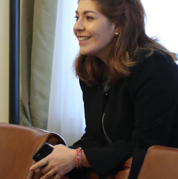 Шефката на правителствената пресслужба Севдалина Арнаудова потвърди, че е придобила