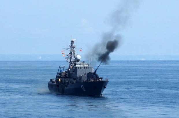 """Ежегодното тактическо учение на Флотилия бойни и спомагателни кораби """"Черно"""