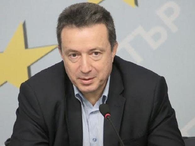 Членът на националния съвет на БСП Янаки Стоилов е с