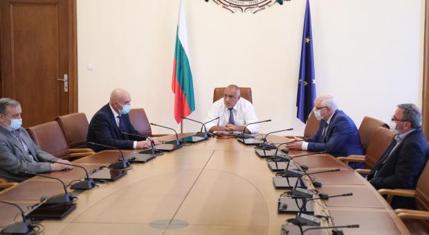 Министър-председателят Бойко Борисов свика работно заседание на Националния оперативен щаб