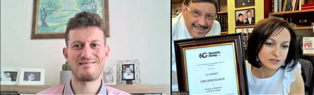 """Светлин Наков, мениджър СофтУни, с награда """"Личност в Новините"""" за 2019-та"""