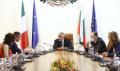 Премиерът Бойко Борисов се срещна с италианския външен министър Луиджи Ди Майо