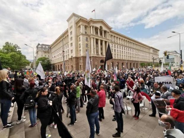 """Започва насроченият за днес антиправителствен протест под надслов """"Да защитим"""