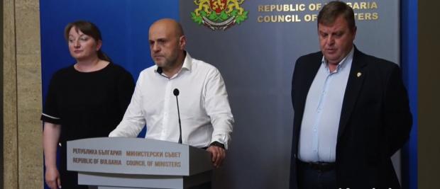 Дончев: Не обмисляме оставка на кабинета. Отнасям се с респект и внимание към всяко гражданско искане