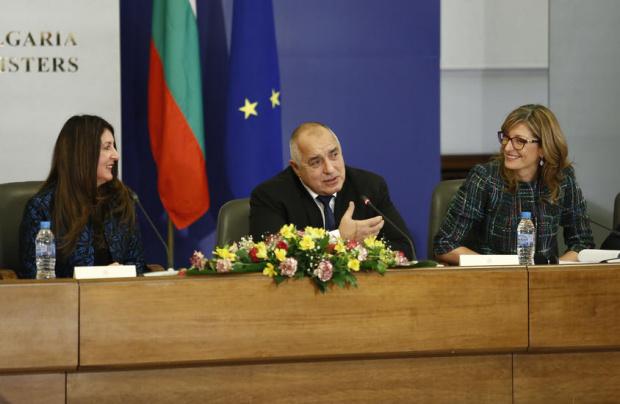 Премиерът Бойко Борисов се срещна с американския посланик у нас