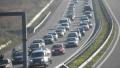 """Пак катастрофа на """"Тракия"""", има огромно задръстване край Цалапица"""