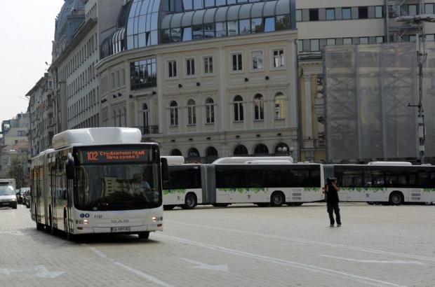 Вижте как е променен градския транспорт в София заради протестите