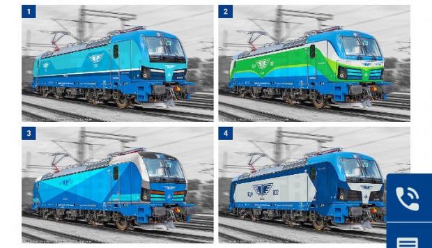Графичната визия на новите локомотиви Siemens Smartron вече е избрана