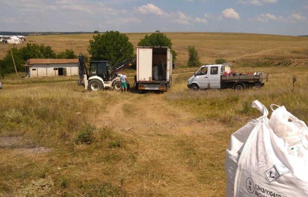 За два дни 22,8 тона пестициди са събрани и изпратени за обезвреждане от два обекта в община Червен бряг