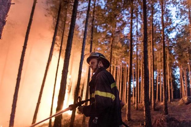 Ситуацията в Хасково с пожарите е под контрол. Това обяви