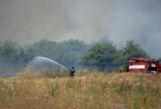 Пожарите в Хасковска област са потушени напълно, но 9 противопожарни