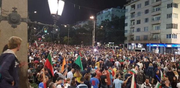 Започва 35-ият ден на антиправителствени протести в столицата с искане