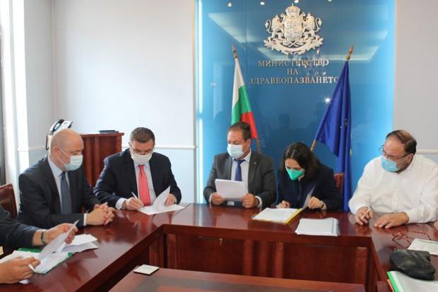 За всички над 350 лечебни заведения на територията на България,