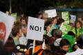 Протест в Мадрид след затягането на мерките срещу Covid