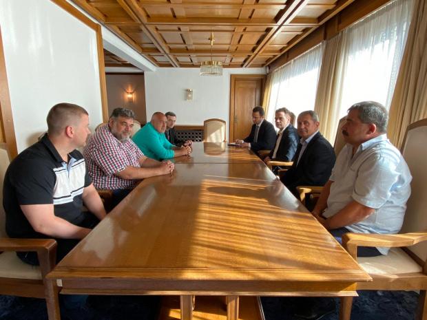 """Министър-председателят Бойко Борисов проведе среща с президента на КТ """"Подкрепа"""""""