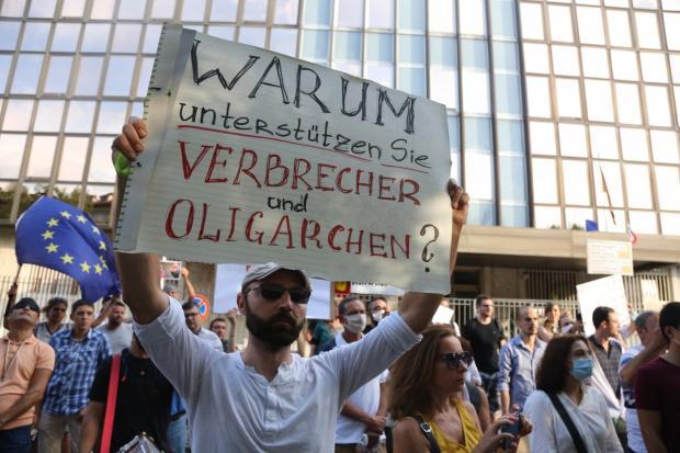 От юли гражданите на България протестират срещу министър-председателя Борисов и