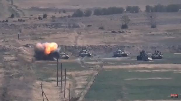 Арменските въоръжени сили са понесли жестоки загуби при старата ввражда