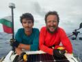 Рекорд! Баща и син от София преплаваха Атлантическия океан само с гребане ВИДЕО