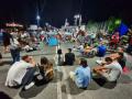 В 113-ия ден на антиправителствени протести студенти отново се събраха пред ректората на СУ